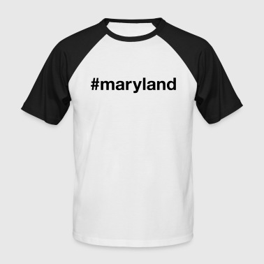MARYLAND - T-shirt baseball manches courtes Homme