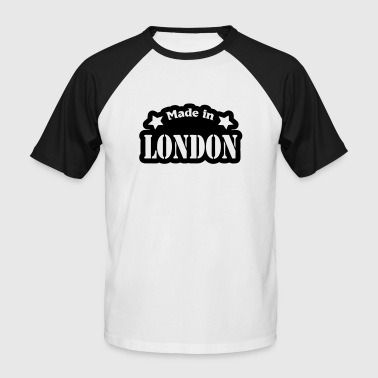 Made in London - Männer Baseball-T-Shirt