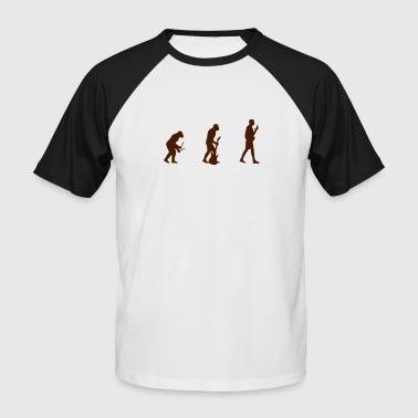 Evolution - Männer Baseball-T-Shirt