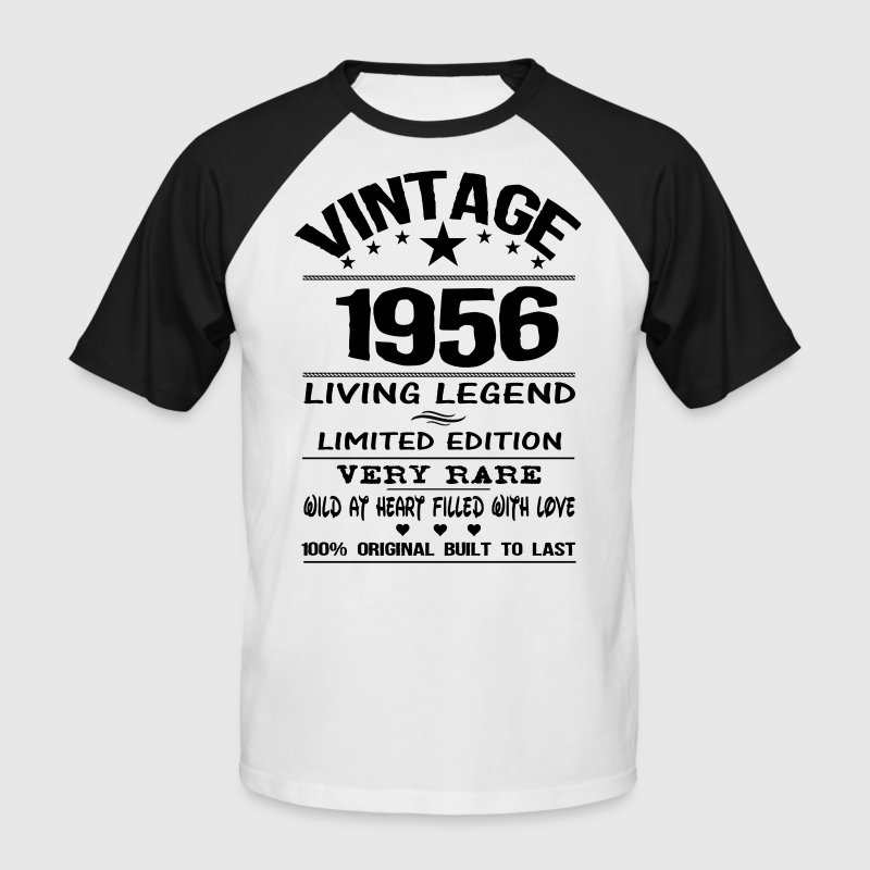VINTAGE 1956 - Men's Baseball T-Shirt