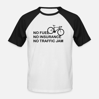 Advantage Biking advantages - Men's Baseball T-Shirt