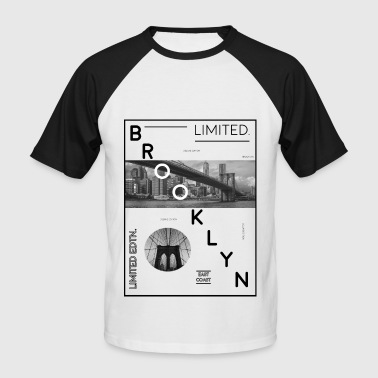 Brooklyn Limited Edition! Brooklyn Bridge idea - Men's Baseball T-Shirt