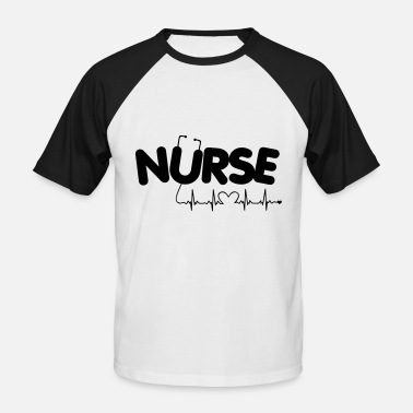 Carer Nurse Carer Gift - Men's Baseball T-Shirt