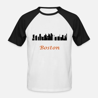 New England boston new england - T-shirt baseball manches courtes Homme