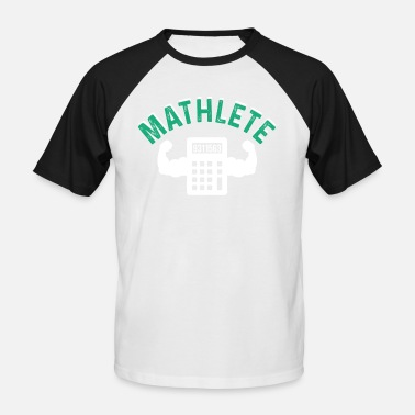 Mathlete Mathlete - Men's Baseball T-Shirt