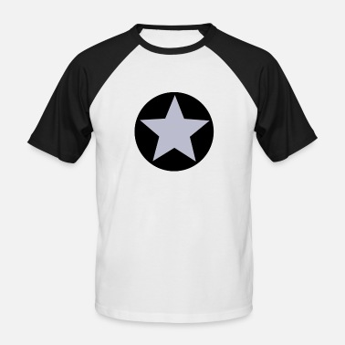 Emblems Kids Star icon emblem logo - Men's Baseball T-Shirt