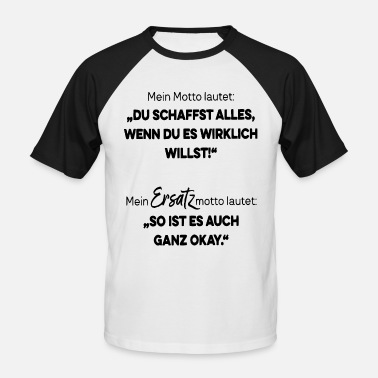 Chaka you can do it! - Men's Baseball T-Shirt