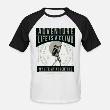 Freeclimbing Escalade - Freeclimbing - T-shirt baseball manches courtes Homme