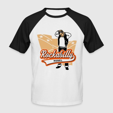Rockabilly Rebel - Men's Baseball T-Shirt