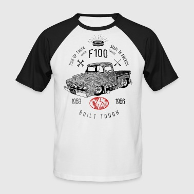 F100 Built Tough, Vintage - T-shirt baseball manches courtes Homme
