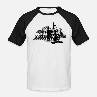 South Korean War - Men's Baseball T-Shirt