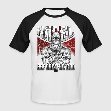 Knight Templar Knights Templar Knights Crusaders Middle Ages - Men's Baseball T-Shirt