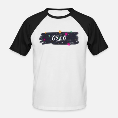 Oslo Oslo # 1 - T-shirt baseball manches courtes Homme