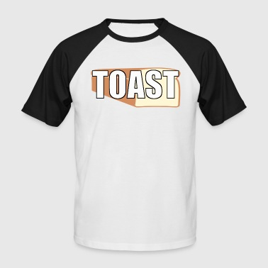 TOAST - Kortermet baseball skjorte for menn