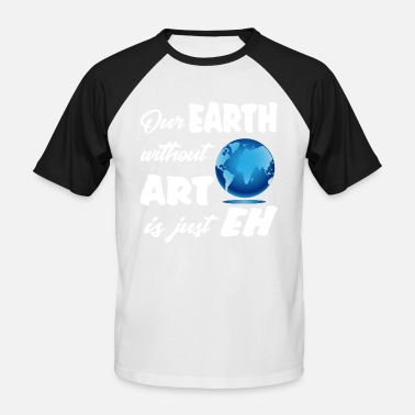 Essential Wear earthwith ART Planet Climate Design Museum - Men's Baseball T-Shirt