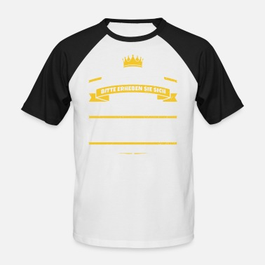 Cadeau Fred Sa Majesté Fred - T-shirt baseball manches courtes Homme
