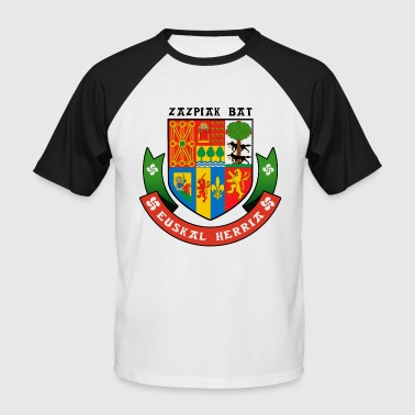 Euskal Herria - Pays Basque 90 - T-shirt baseball manches courtes Homme