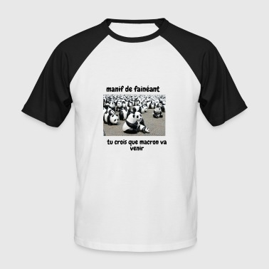 Manif manif - T-shirt baseball manches courtes Homme