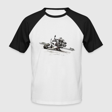 motorcycle - Men's Baseball T-Shirt