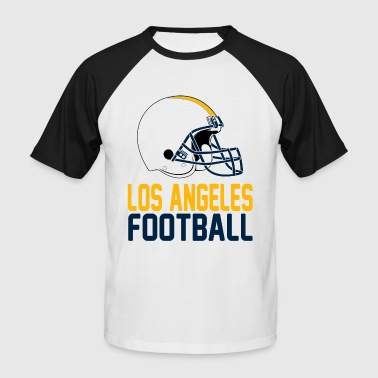 Helmet Los Angeles Yellow - Men's Baseball T-Shirt