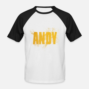 Andy Andy - T-shirt baseball manches courtes Homme