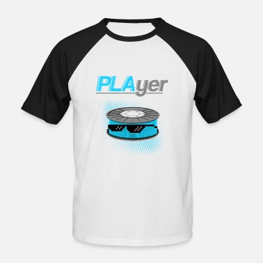 3d Printer 3D printer T-shirt - Men's Baseball T-Shirt