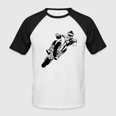 Supermoto Racing - T-shirt baseball manches courtes Homme