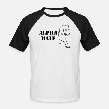 Alpha Male Alpha male - Men's Baseball T-Shirt