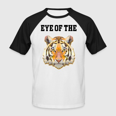 Cat Tiger Tiger cat Eye of the tiger - Men's Baseball T-Shirt