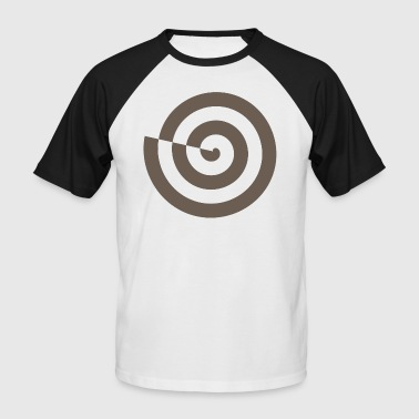Odin Celte Spiral snail mystic sign magic Celts - Men's Baseball T-Shirt