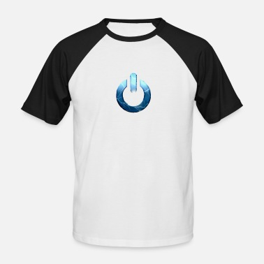 Power Button Power button - Men's Baseball T-Shirt