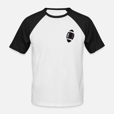 Rugby Ball rugby ball - Men's Baseball T-Shirt