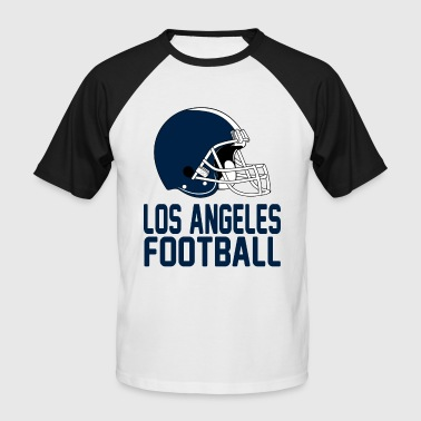 Helmet Los Angeles Blue - Men's Baseball T-Shirt