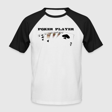 Poker Player black edition - T-shirt baseball manches courtes Homme