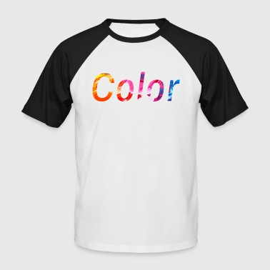 colour - Men's Baseball T-Shirt