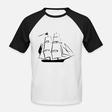 Rigging old rigging - Men's Baseball T-Shirt