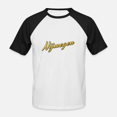 Nijmegen Nijmegen - Men's Baseball T-Shirt