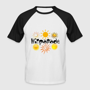 Hit-Parade - T-shirt baseball manches courtes Homme