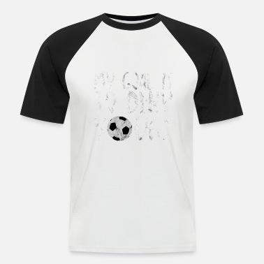 Fotboll Skämt Fotboll Fotbollsplan säger skämt present - Baseball T-shirt  herr f3c28cd0635ac