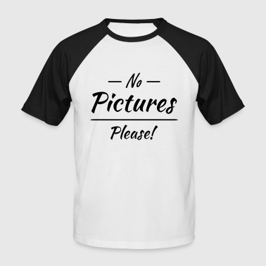 Picture No pictures please! - T-shirt baseball manches courtes Homme