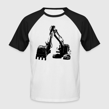 excavator - Men's Baseball T-Shirt