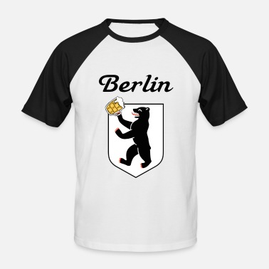 Berlin - T-shirt baseball Homme