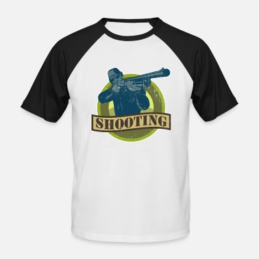 Target Shooting Target Shooting Shooting Sport Shooting - Men's Baseball T-Shirt
