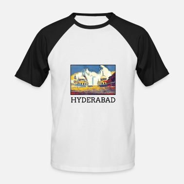 Hyderabad Hyderabad City Skyline Road Trip tur turist - Baseball T-shirt mænd