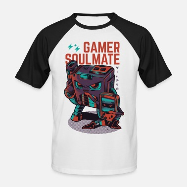Gaming Collection Gamer Soulmate - T-shirt baseball manches courtes Homme