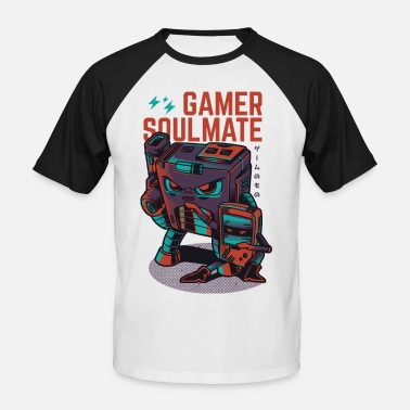 Gaming Collection Gamer Soulmate - T-shirt baseball Homme