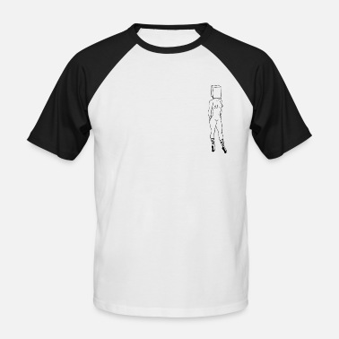 Thought Thoughts - Men's Baseball T-Shirt