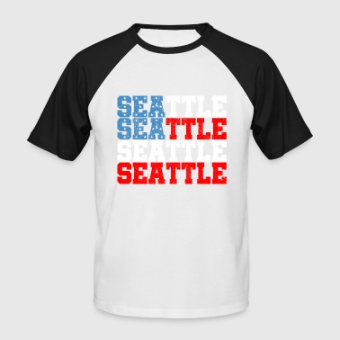 Seattle - Men's Baseball T-Shirt