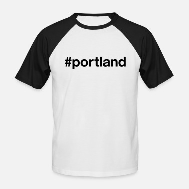Portland PORTLAND - T-shirt baseball manches courtes Homme