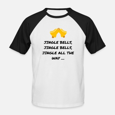 Jingle Bells JINGLE BELLS - Mannen baseballshirt korte mouw